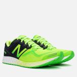 Мужские кроссовки New Balance M1980GB Green/Black фото- 1