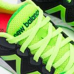 Мужские кроссовки New Balance M1980GB Green/Black фото- 6