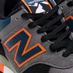 New Balance M576EBO Three Peaks Grey/Orange photo- 7