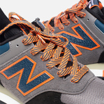 New Balance M576EBO Three Peaks Grey/Orange photo- 9