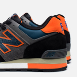 New Balance M576EBO Three Peaks Grey/Orange photo- 6