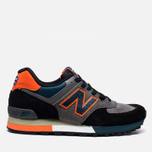 New Balance M576EBO Three Peaks Grey/Orange photo- 0