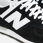 New Balance M576KGS Men's Sneakers Black photo- 5