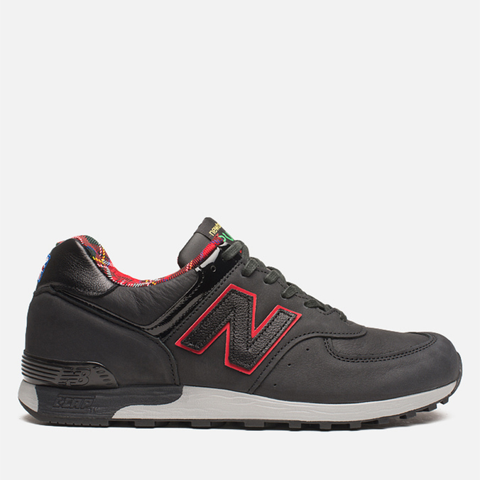 Мужские кроссовки New Balance M576PUN British Music Pack Black/Red