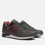 Мужские кроссовки New Balance M576PUN British Music Pack Black/Red фото- 1