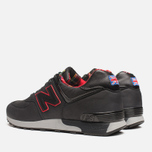 Мужские кроссовки New Balance M576PUN British Music Pack Black/Red фото- 2