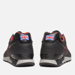 Мужские кроссовки New Balance M576PUN British Music Pack Black/Red фото- 3