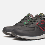 Мужские кроссовки New Balance M576PUN British Music Pack Black/Red фото- 5