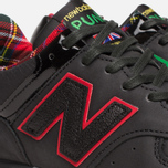 Мужские кроссовки New Balance M576PUN British Music Pack Black/Red фото- 7
