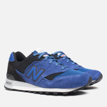 New Balance M577SBK Sneakers Ink photo- 1