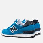 Мужские кроссовки New Balance M670SBK Cobalt Blue фото- 2
