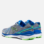 Мужские кроссовки New Balance M790WB3 Gray/Blue/Green фото- 2