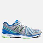 Мужские кроссовки New Balance M790WB3 Gray/Blue/Green фото- 0