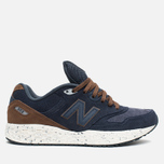 New Balance M988OF Sneakers Navy/Brown photo- 0