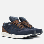New Balance M988OF Sneakers Navy/Brown photo- 1