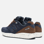 New Balance M988OF Sneakers Navy/Brown photo- 2
