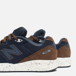 New Balance M988OF Sneakers Navy/Brown photo- 7