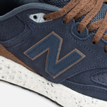 New Balance M988OF Sneakers Navy/Brown photo- 5
