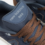 New Balance M988OF Sneakers Navy/Brown photo- 6