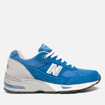 Мужские кроссовки New Balance M991BLW Blue фото- 0