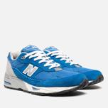 Мужские кроссовки New Balance M991BLW Blue фото- 1