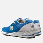 Мужские кроссовки New Balance M991BLW Blue фото- 2