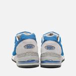Мужские кроссовки New Balance M991BLW Blue фото- 3