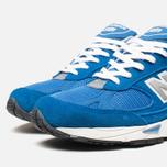 Мужские кроссовки New Balance M991BLW Blue фото- 5
