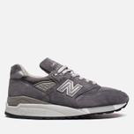 Мужские кроссовки New Balance M998CH Grey фото- 0