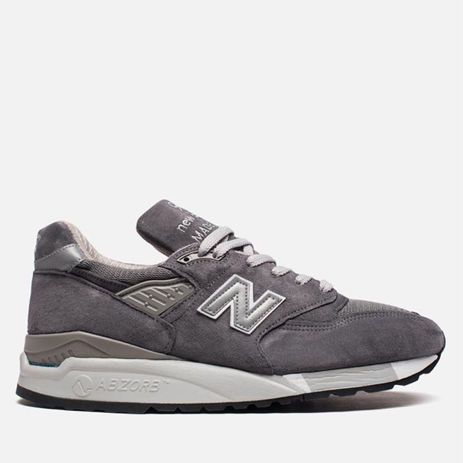 Мужские кроссовки New Balance M998CH Grey