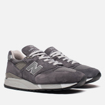 Мужские кроссовки New Balance M998CH Grey фото- 1