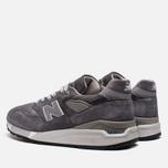Мужские кроссовки New Balance M998CH Grey фото- 2