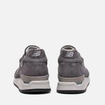 Мужские кроссовки New Balance M998CH Grey фото- 3
