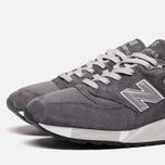 Мужские кроссовки New Balance M998CH Grey фото- 5