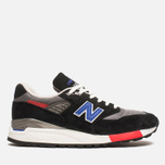 Мужские кроссовки New Balance M998HL Catch 22 Black/Blue фото- 0