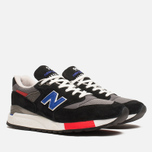 Мужские кроссовки New Balance M998HL Catch 22 Black/Blue фото- 1