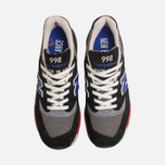 Мужские кроссовки New Balance M998HL Catch 22 Black/Blue фото- 4