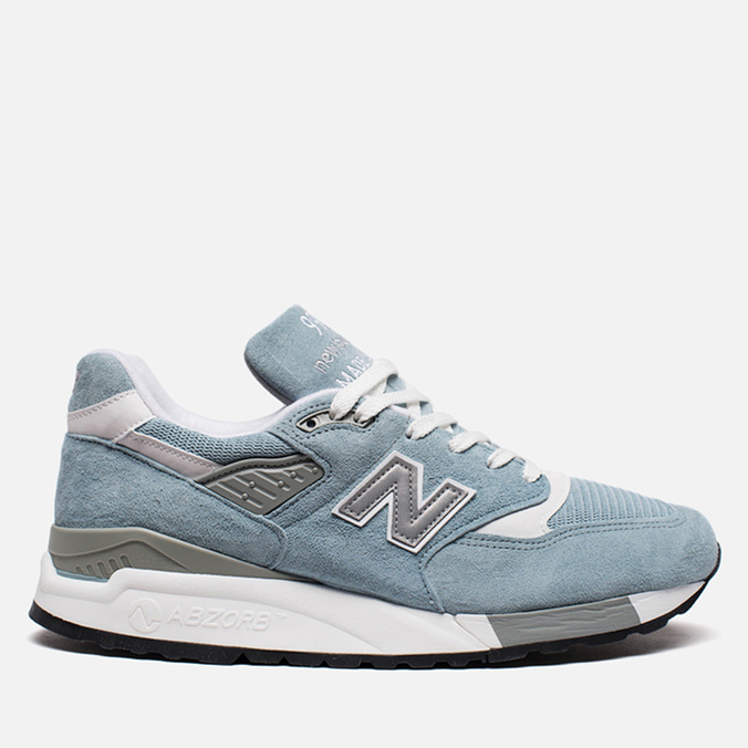 Мужские кроссовки New Balance M998LL Sky Blue/White