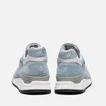 Мужские кроссовки New Balance M998LL Sky Blue/White фото- 3