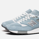 Мужские кроссовки New Balance M998LL Sky Blue/White фото- 5