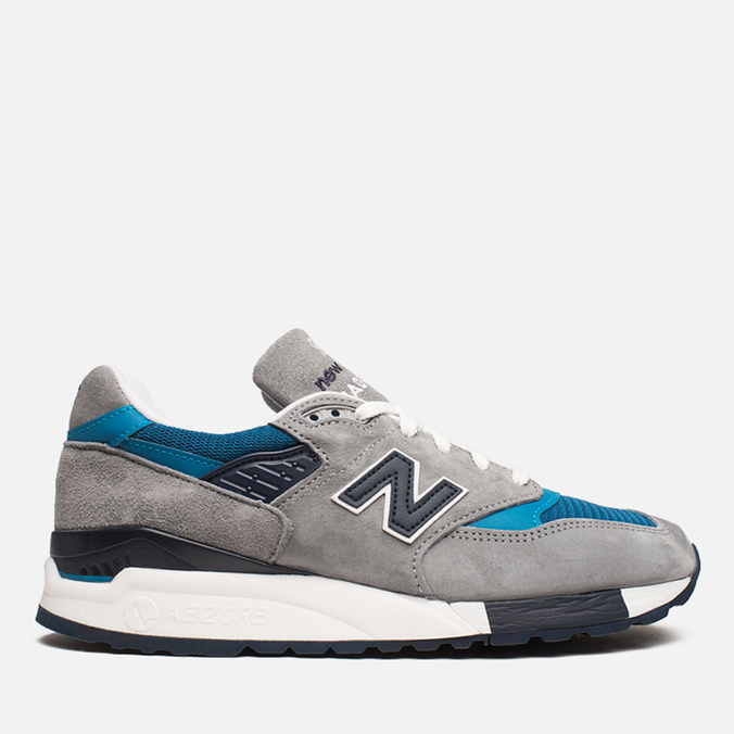 Мужские кроссовки New Balance M998MD Moby Dick Grey/Blue