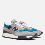 Мужские кроссовки New Balance M998MD Moby Dick Grey/Blue фото- 1