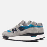 Мужские кроссовки New Balance M998MD Moby Dick Grey/Blue фото- 2