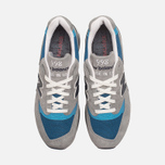Мужские кроссовки New Balance M998MD Moby Dick Grey/Blue фото- 4