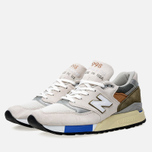 Кроссовки New Balance M998TN2 x Concepts C-note Natural/Olive/White фото- 1