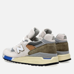 Кроссовки New Balance M998TN2 x Concepts C-note Natural/Olive/White фото- 2