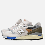 Кроссовки New Balance M998TN2 x Concepts C-note Natural/Olive/White фото- 3