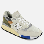 Кроссовки New Balance M998TN2 x Concepts C-note Natural/Olive/White фото- 4