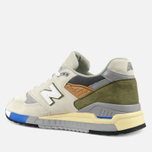 Кроссовки New Balance M998TN2 x Concepts C-note Natural/Olive/White фото- 5