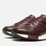 Мужские кроссовки New Balance M998WD Horween Leather Burgundy фото- 5